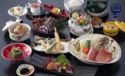 渓山閣 昼食